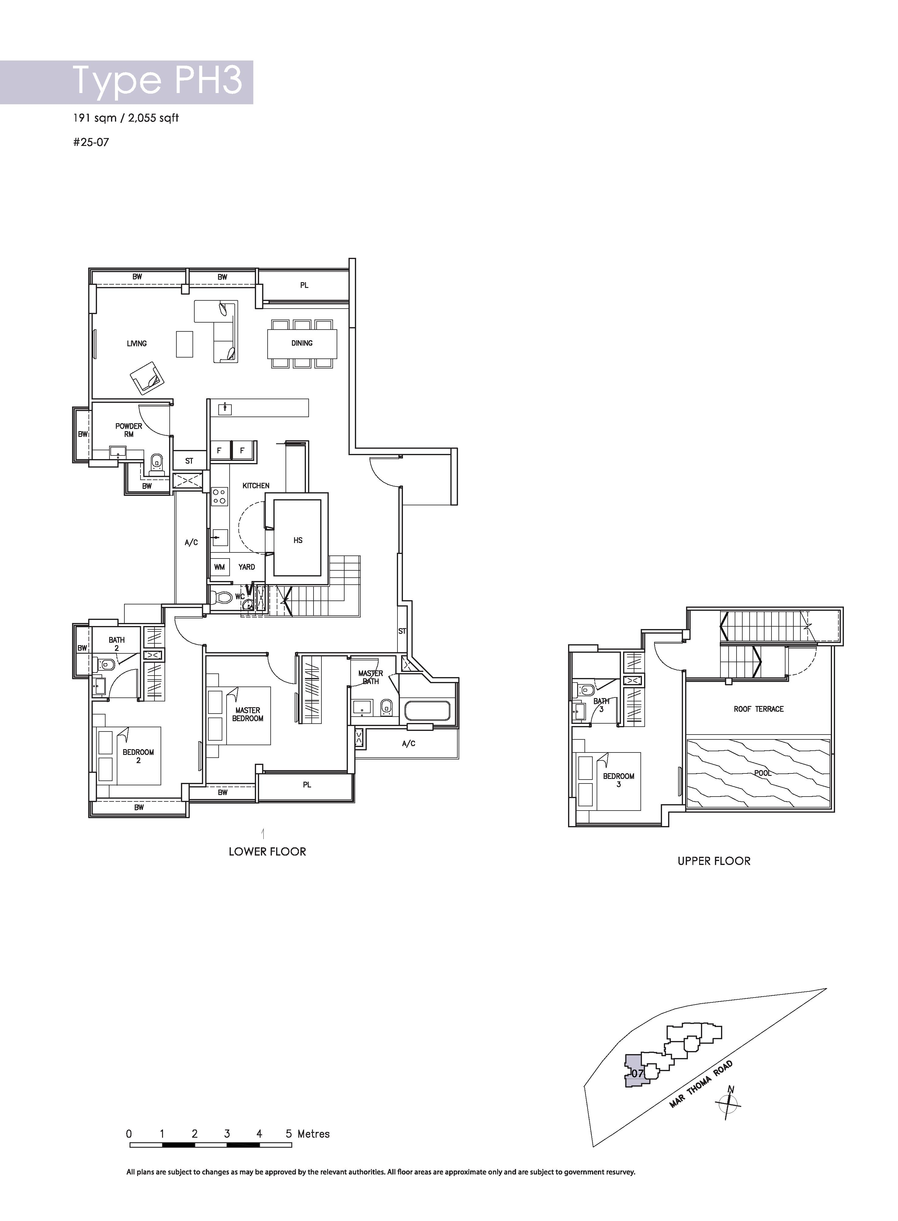 penthouse 3 bed riverbay. Black Bedroom Furniture Sets. Home Design Ideas